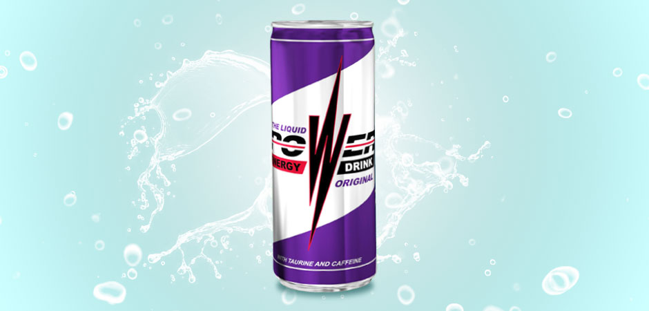 THE LIQUID OF POWER ENERGY DRINK